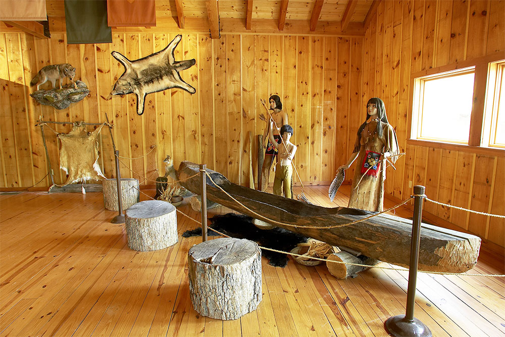 Bushkill Falls Native American Exhibit